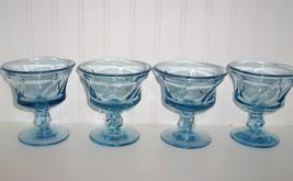 Fostoria Jamestown Blue Glasss Sherbets (Set 4) - $34.99