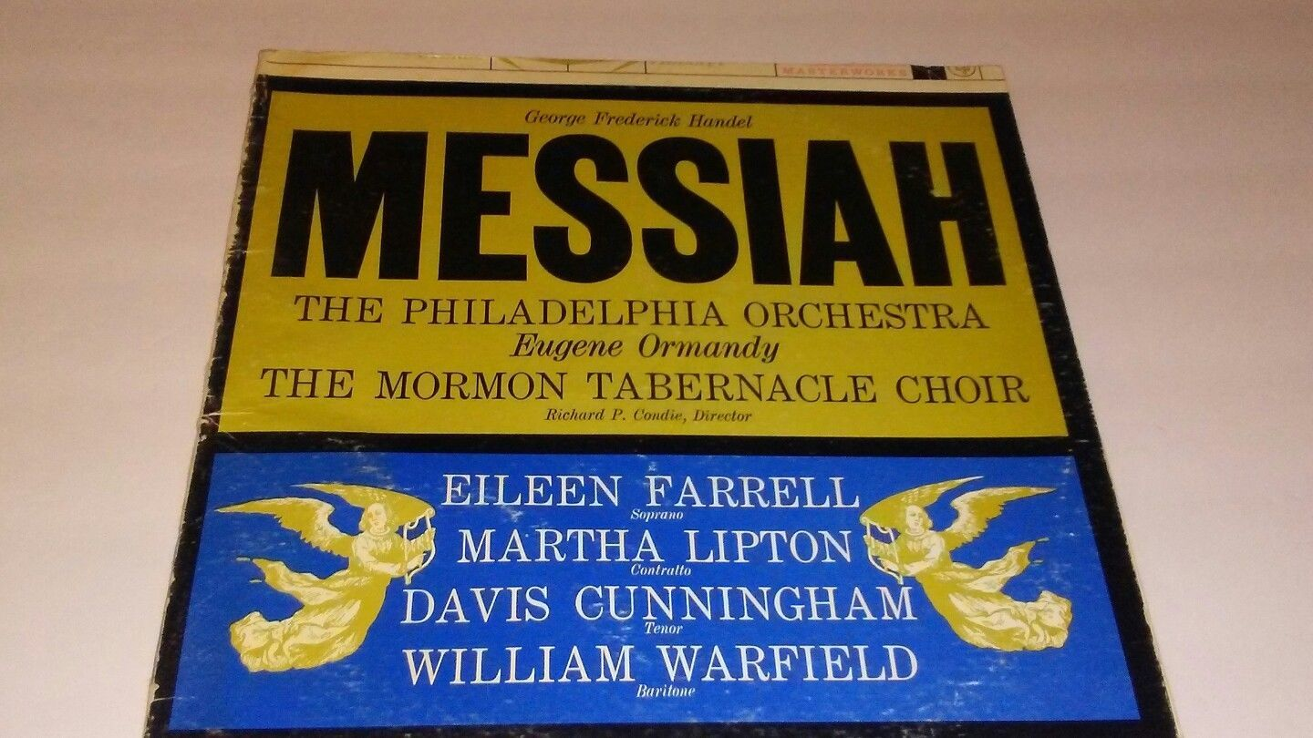 -RARE-George Frederick Handel Messiah~with program calvin college performance