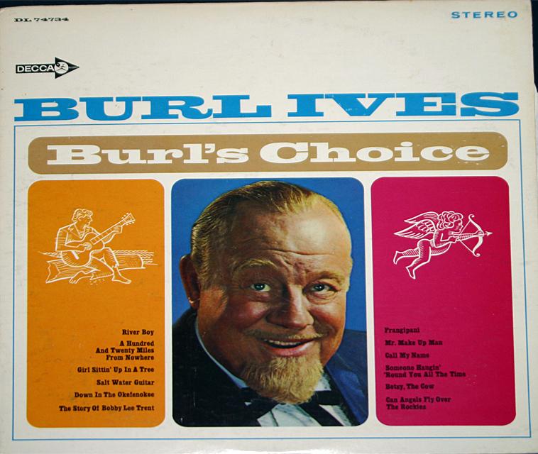 Burl ives  burl s choice cover