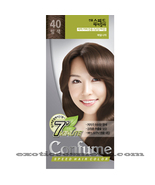 CONFUME 7 MINUTE SPEED HERBAL HAIR COLOR DYE - S40 NUT BROWN - $11.99