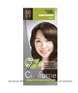CONFUME 7 MINUTE SPEED HERBAL HAIR COLOR DYE - S50 BROWN - $11.99