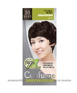 CONFUME 7 MINUTE SPEED HERBAL HAIR COLOR DYE - S30 DARK BROWN - $11.99