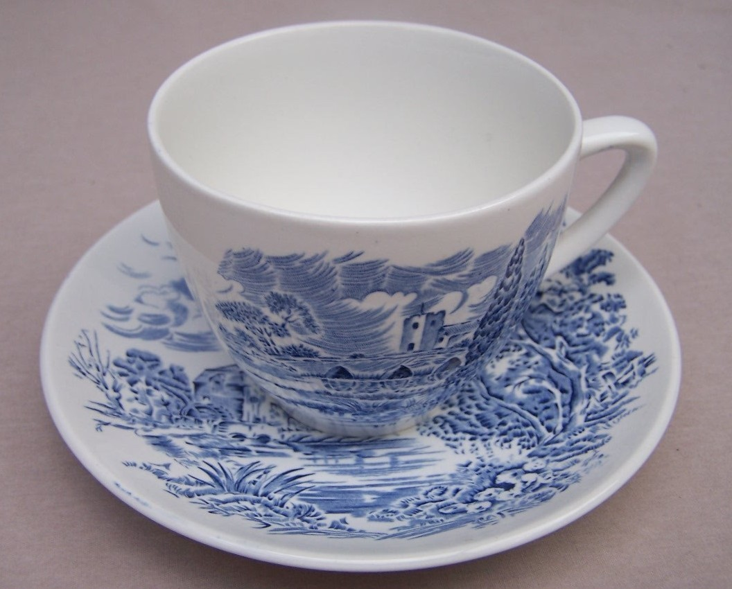 Tea Cup Coffee Cup  Countryside  Wedgwood Vintage