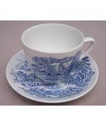 Tea Cup Coffee Cup  Countryside  Wedgwood Vintage - $30.00