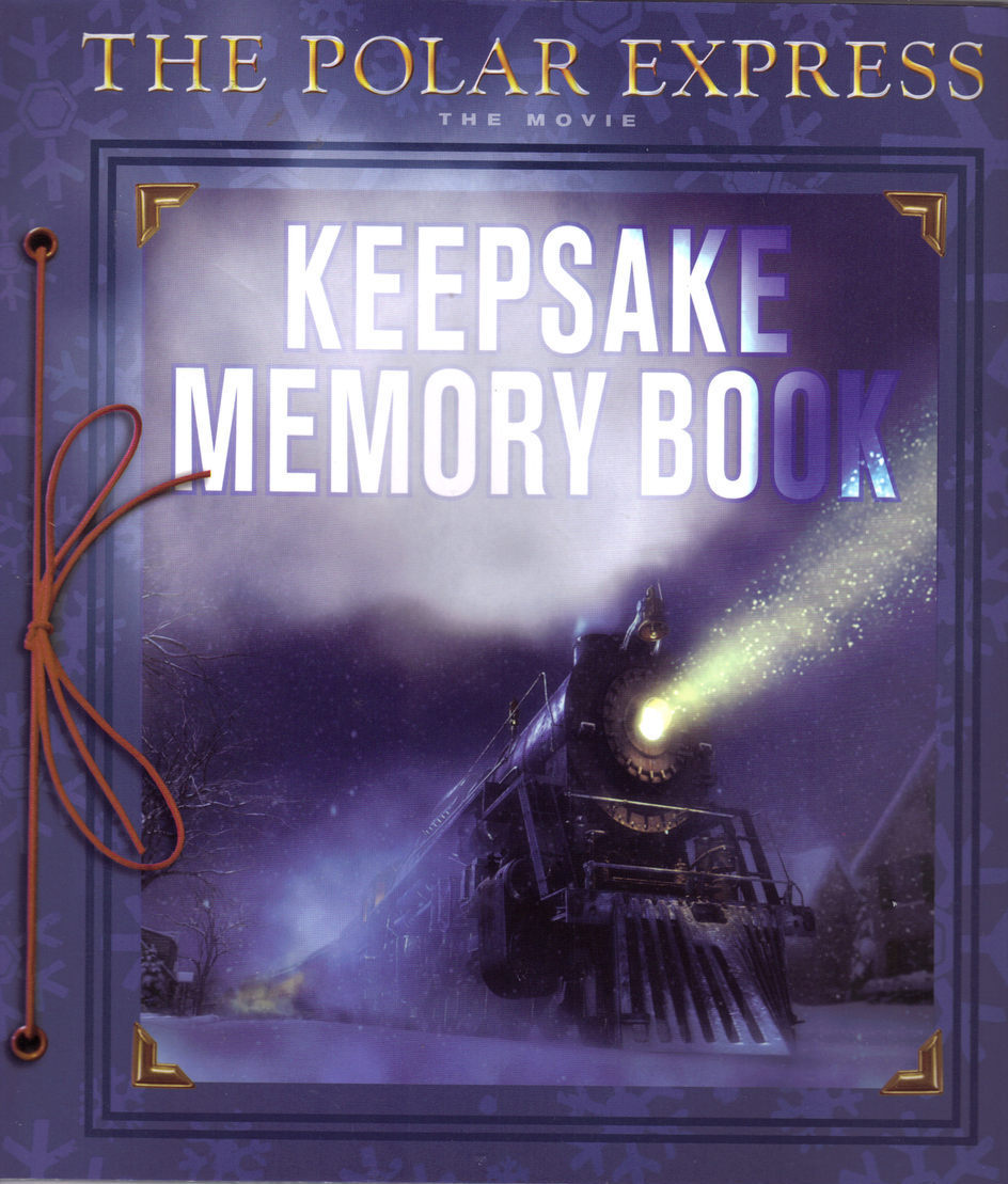 THE POLAR EXPRESS, The Movie KEEPSAKE MEMORY BOOK
