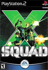 Primary image for X-Squad Sony PlayStation 2, 2000 Action / Adventure T-Teen FREE SHIPPING U.S.A.