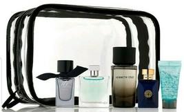 Azzaro Versace Burberry Kenneth Cole Clinique Mens Fragrance 5-Piece SET... - $19.59