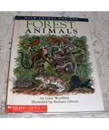 Wild Animal Pop Ups FOREST ANIMALS by Luise Woe... - $4.49