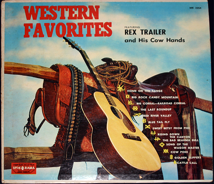 Rex trailer  western favorites cover