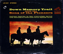 The sons of the pioneers down memory trail cover thumb200