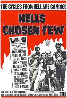 Primary image for Hells Chosen Few - 1968 - Movie Poster