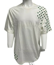 Vintage Nike Men's White T-shirt with Green Dots short sleeve 4XL - $49.39
