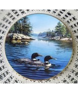 """Loons"" Collector Plate # 2770, Hadley House, 1989 - $8.00"