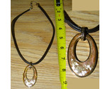 5 necklace 1 leather and oval thumb155 crop