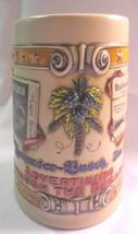 1992 ADVERTISING THROUGH THE DECADES ANHEUSER BUSCH BEER STEIN MUG 1st n... - $18.00