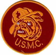 USMC Bulldog Patch - $1,000.00