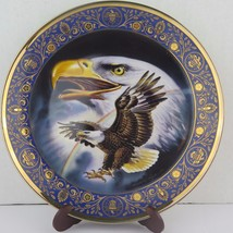 """""""Proflie of Freedom"""" Franklin Mint Royal Doulton Fine Bone China Collector Plate - $8.91"""