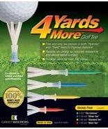 4 Yards More Golf Tees Variety Pack - $3.99+