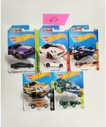 Hot Wheels Cars Mixed Lot of 5 NEW Lot #6 - $9.70