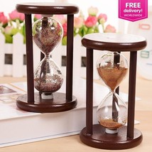 Vintage Hourglass Sand Timer Brass Nautical Antique Maritime Hour Glass ... - $12.10