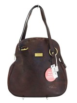 Authentic CHLOE Dark Brown Leather Shoulder Bag TT759 - $294.03