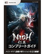 NIOH Official Complete Guide Japanese Book PS4 Game Main Sub Missions Ma... - $44.00