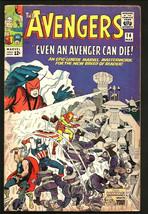 AVENGERS #14  Marvel Comics 1st Series 1st Print 1965 STAN LEE Silver Age - $139.59