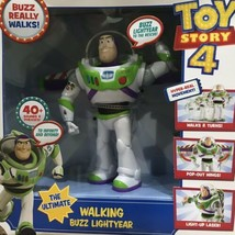 Ultimate Walking Buzz Lightyear Talks Action Doll Gift Disney Pixar Toy ... - $59.39
