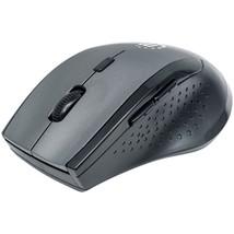 Manhattan 179379 Curve Wireless Optical Mouse (Gray/Black) - $30.61