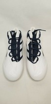 Adidas Freak X Carbon Mid Football Cleat Men  Size 15 White/Navy  New FW4 - $34.99