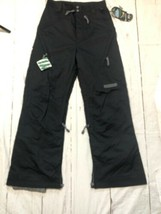 Men's Ski Pants Black Dot Size Small Black  New With Tags - $176.22