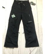 Men's Ski Pants Black Dot Size Small Black  New With Tags - $176.22
