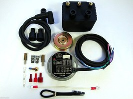 ULTIMA® Single Fire Programmable Ignition Kit for '83 & up Harley EVO/Blockhead - $179.11