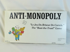 Anti-Monopoly 1974 Board Game 100% Complete Excellent Plus Condition Bil... - $18.60