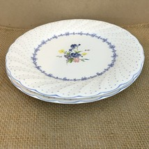 Nikko Japan Blue Peony Set of 2 Dinner Plates (2) - $28.71