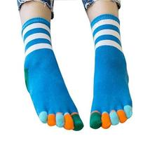 [M] Toe Socks Casual Socks Warm Socks Girl's Lovely Socks Cotton Crew Socks Gift
