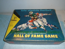 VINTAGE 1969 CADACO FOTO-ELECTRIC PRO FOOTBALL HALL OF FAME GAME - $24.99