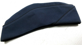 Air Force Military Blue Garrison Cap Hat Women's Size 22 Polyester Wool ... - $9.85