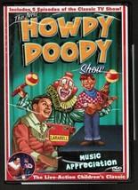"HOWDY DOODY Show: ""Music Appreciation"" DVD (Goodtimes 2004)  NEW Sealed - $1.98"