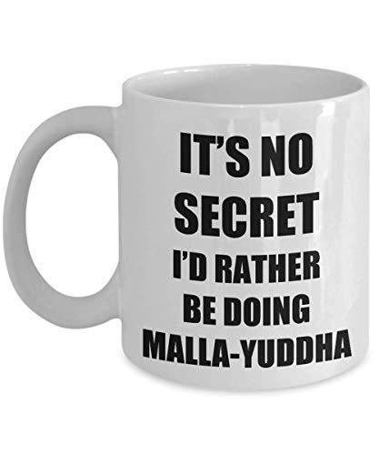 Malla-yuddha Mug Sport Fan Lover Funny Gift Idea Novelty Gag Coffee Tea Cup
