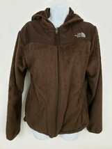The North Face Brown Sherpa Fleece Hooded Softshell Jacket Women's Size L - $57.91