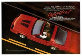 1989 Chevrolet Camaro IROC-Z t-tops,  24 x 36 INCH POSTER,  sports car - $18.99