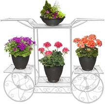 Garden Display Rack Flower Pot Planter Holder Home Garden Patio Pants Stand - $74.94 CAD
