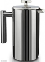 SterlingPro DoubleWall Stainless Steel French Coffee Press 1L - £53.21 GBP