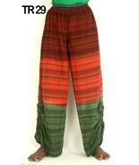 10 Cotton Multi Tie Dye Seersucker Straight Trousers Pants Lounge wear TR29 - $84.55