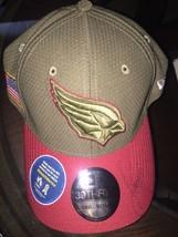 Fitzgerald signed Arizona Cardinals Cap Era 39Thirty 2017 Salute to Serv... - $29.02