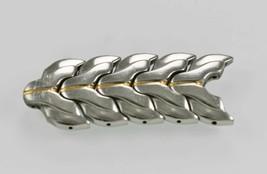 Seiko Kinetic Windward SKH064 SKA058 Mens Stainless FIVE Silver Gold Lin... - $28.06