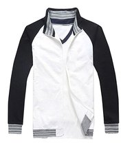 Fate Stay Night Cosplay Costume Black White Jacket With Long T-Shirt - $59.99