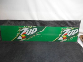 Old Vtg 7-UP Seven-Up Advertising Sign Display Header Soda Pop Beverage - $98.99