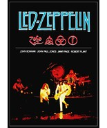"Led Zeppelin Band ""Live"" Stand-Up Display - Rock Music Concert Memorabilia - $15.99"